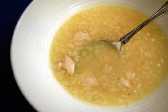 Avgolemono - Greek egg lemon chicken soup - A recipe by Epicuriantime.com