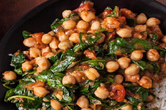 spinach and chickpeas - A recipe by Epicuriantime.com