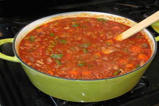 Vegetarian chili - A recipe by Epicuriantime.com