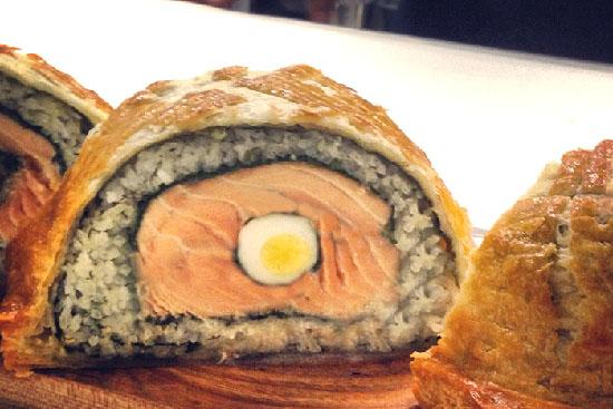 Coulibiac of salmon - A recipe by Epicuriantime.com